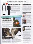 Notis om Konstrundan på sidan 25, Täby Danderyd Magasin no 26