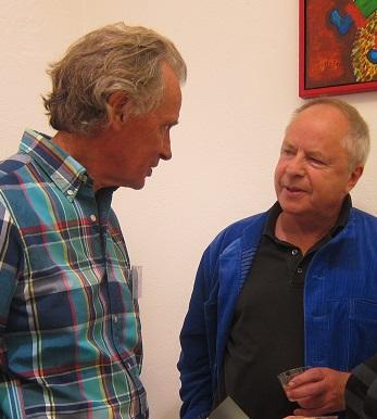 Leif Ahrle i samspråk med Helge Skoog
