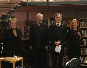 Berättarröster en afton i Danderyd 17 oktober 2017 på DjursholmsBibliotek